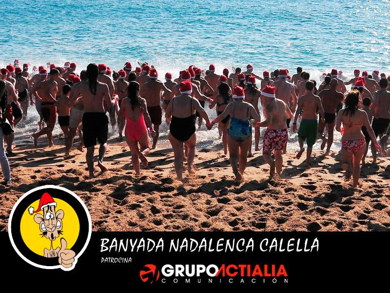 Grupo Actialia patrocina Banyada Nadalenca a Calella 2013