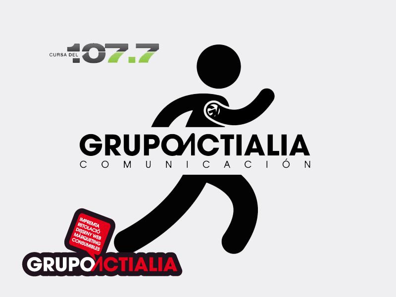 Grupo Actialia patrocina Cursa Nocturna Radio Palafolls 107.7 Km