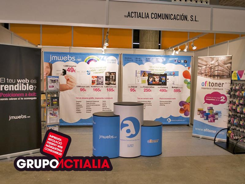 "Grupo Actialia en la Fira de Girona ""Fira de Sant Narcís"" 2011"
