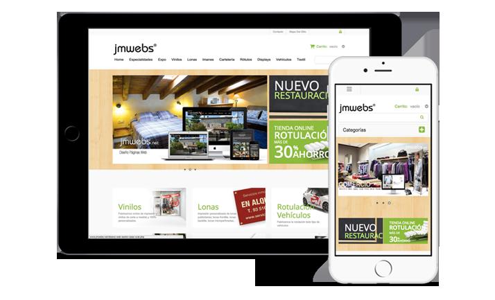 Renting Diseño Web Tienda Online