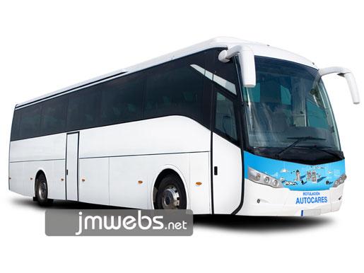 Rotulación de autobuses y autocares