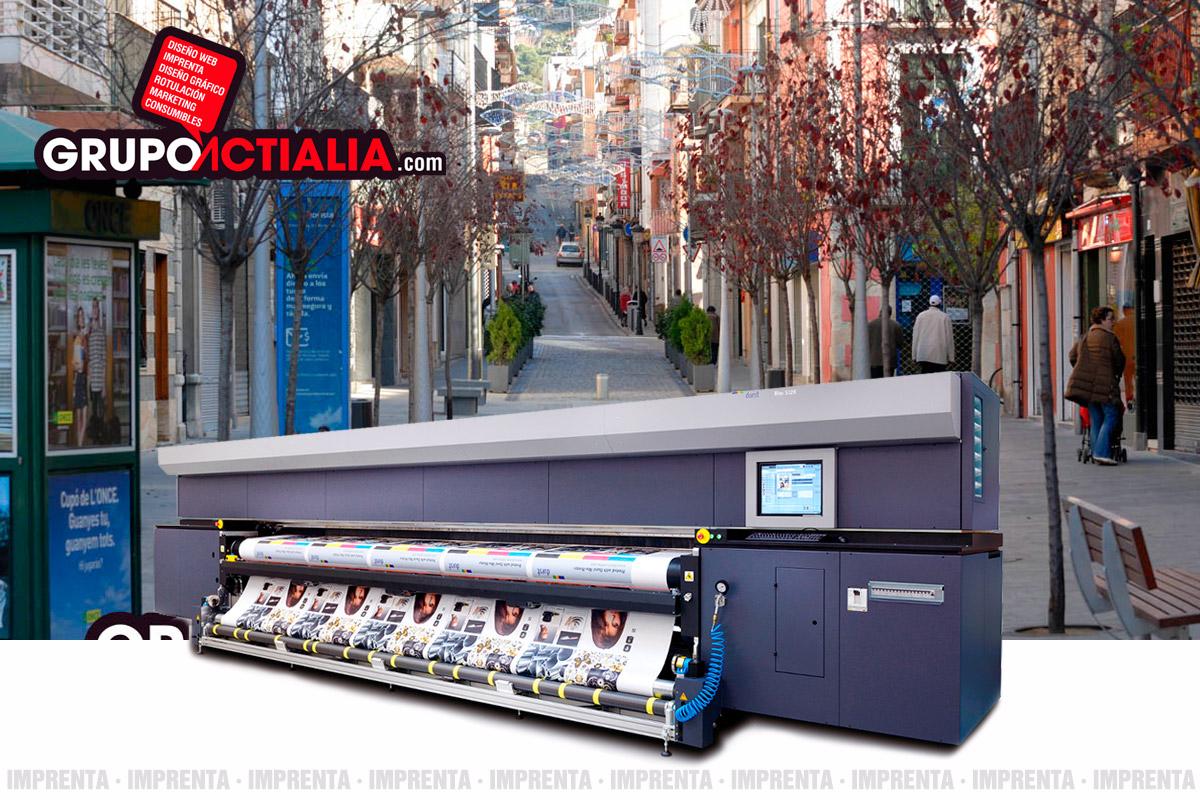 Grupo Actialia imprenta Blanes