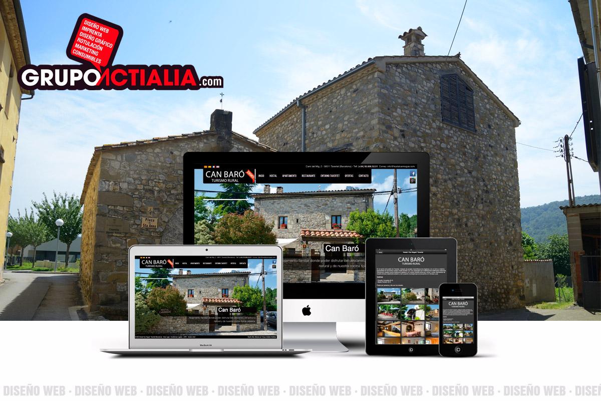 Grupo Actialia web Argelaguer