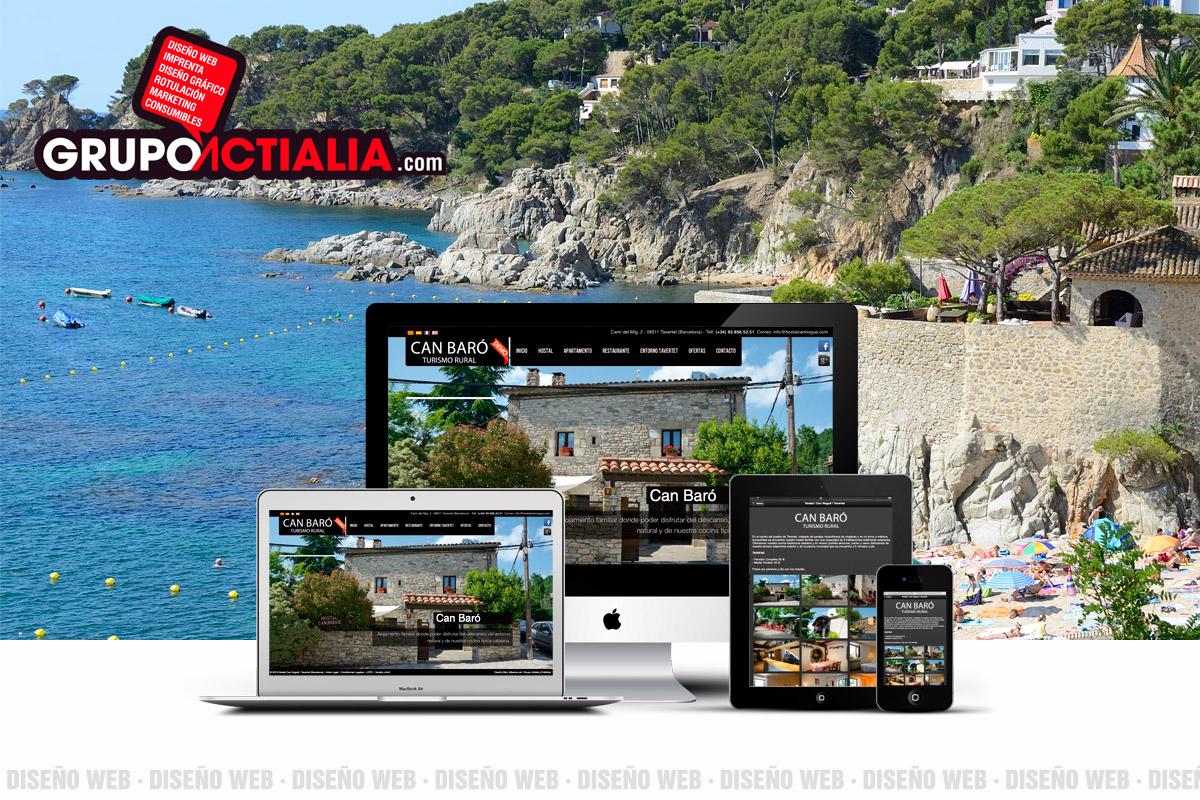 Grupo Actialia diseño Calella de Palafrugell