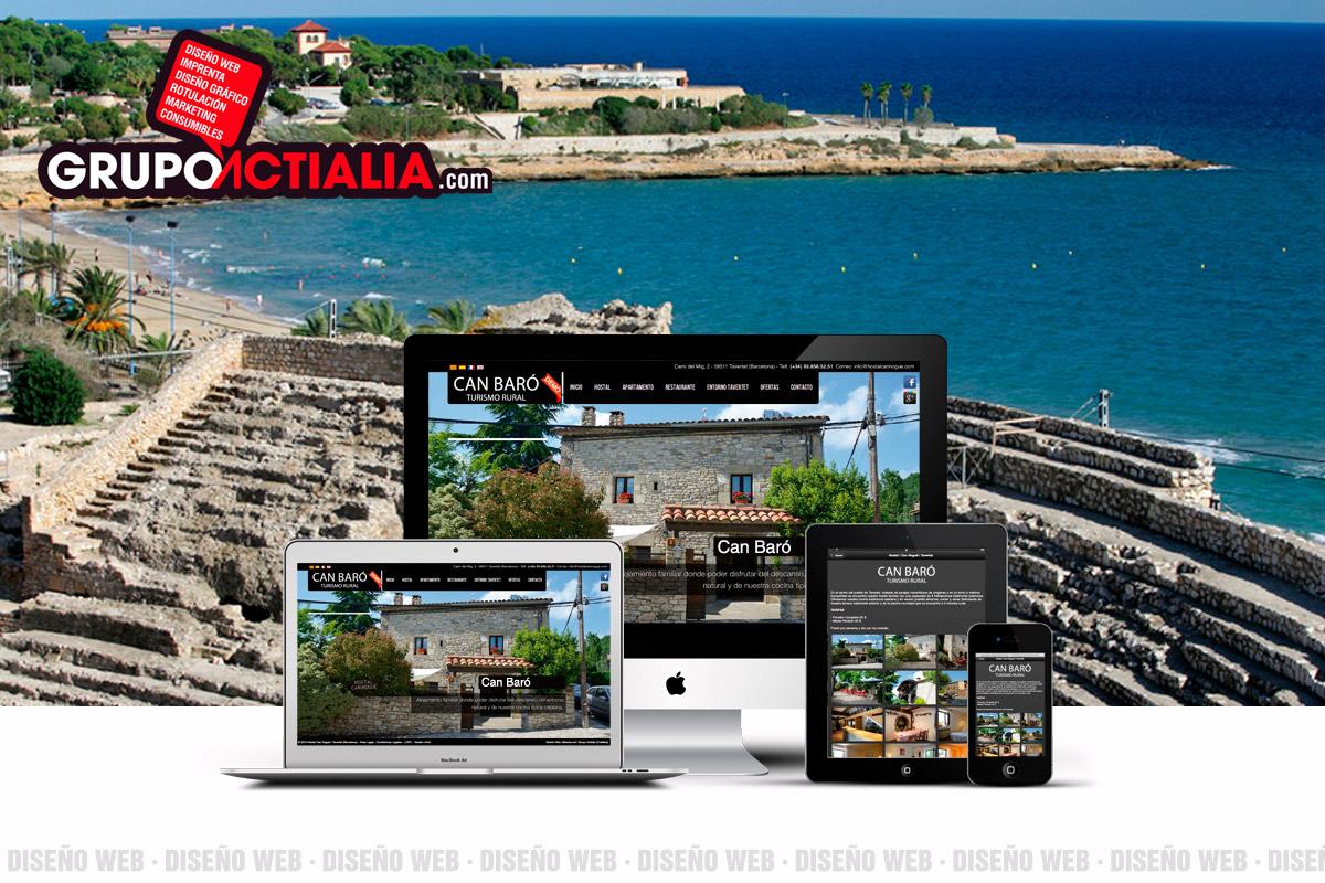 Grupo Actialia Diseño Web Palafolls