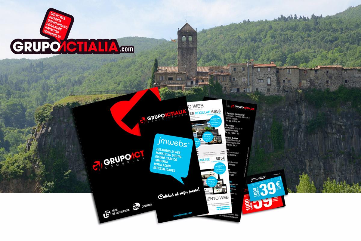visita presentacion Castellfollit de la Roca