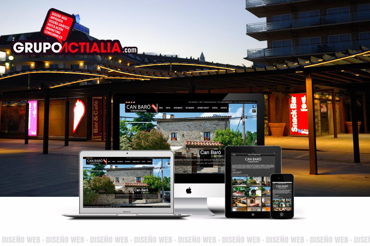 Diseño Web Santa Susanna
