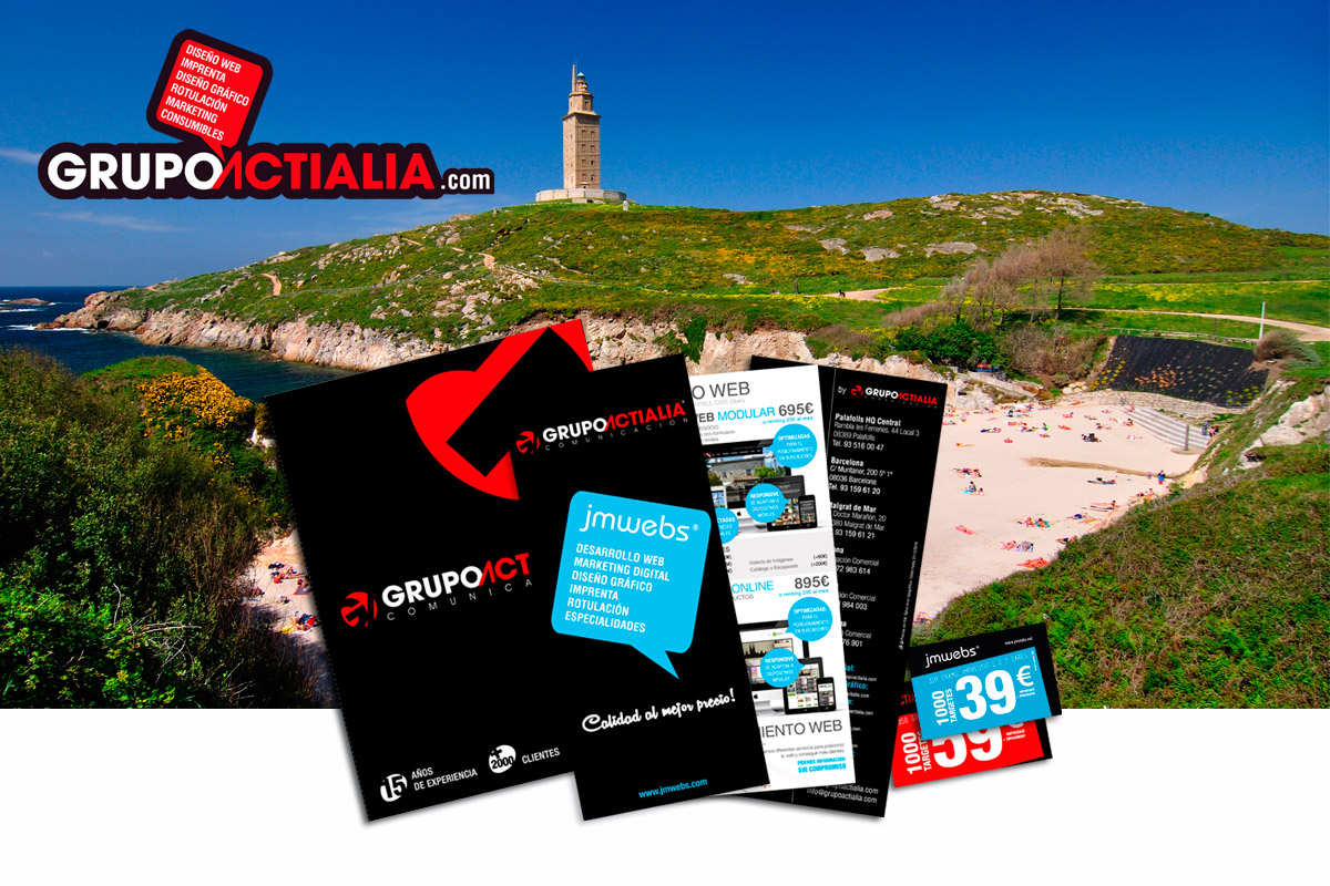 Grupo Actialia visita A Coruña