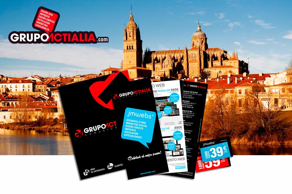 visita presentacion Salamanca