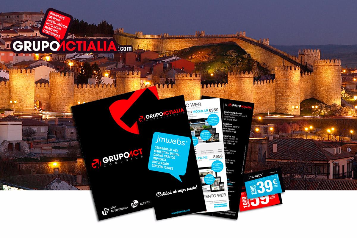 Grupo Actialia visita Ávila