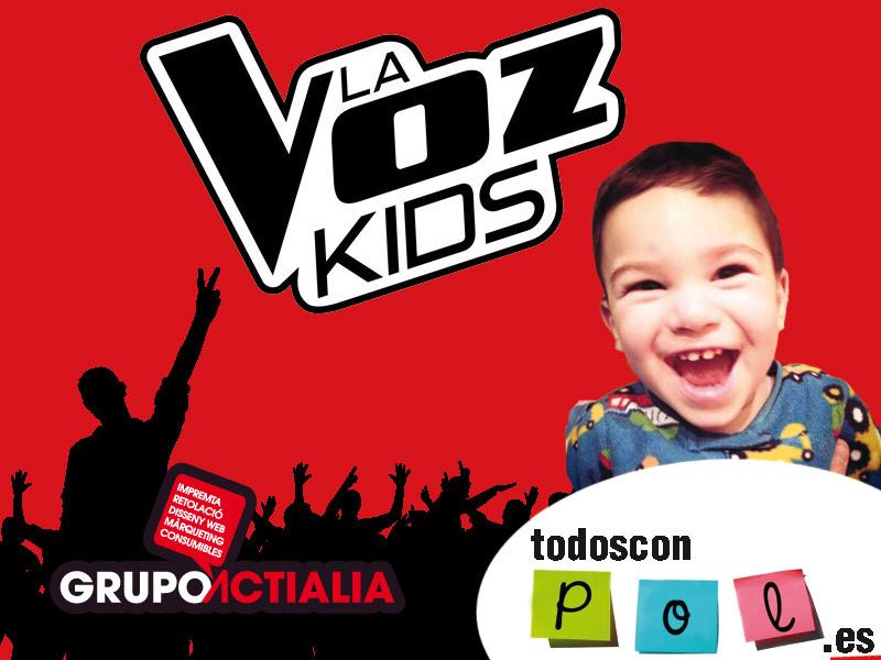 La Voz Kids y Todos con Pol
