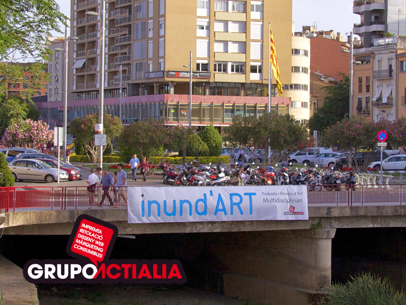 Grupo Actialia ha patrocinado Inund'Art Girona 2014