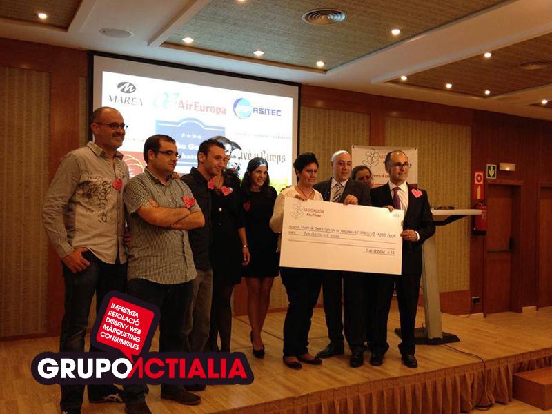 La solidaridad convierte 1€ en 200.000 €