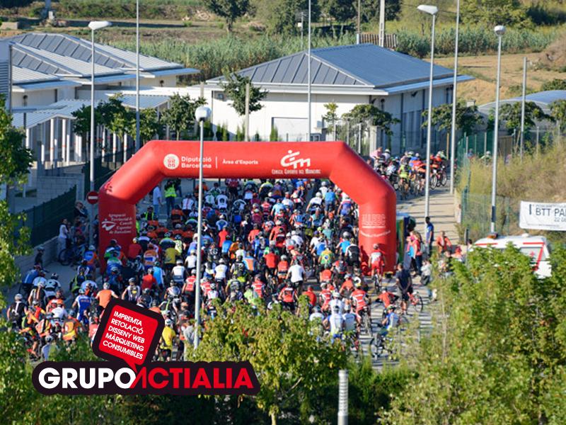 Grupo Actialia ha patrocinado la cursa de BTT de Palafolls