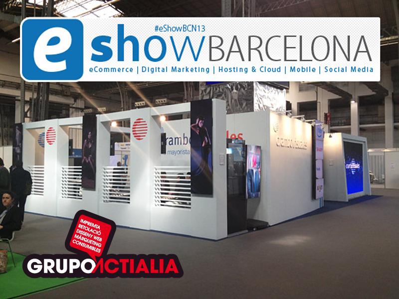 Grupo actialia en eshow barcelona 2013