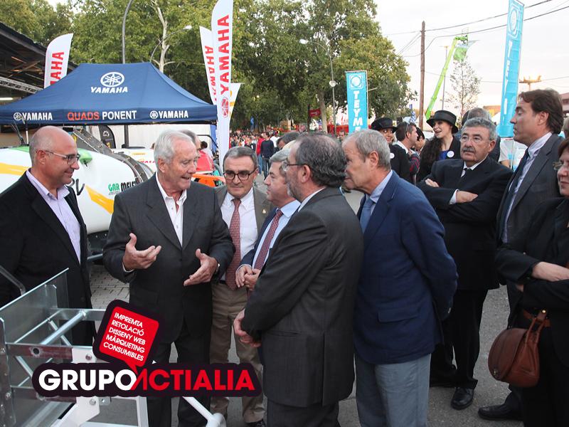 Grupo Actialia en la Fira de Sant Miquel 2012 de Lleida