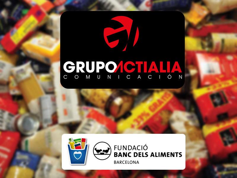 Grupo actialia colabora en banc dels d'aliments 2013