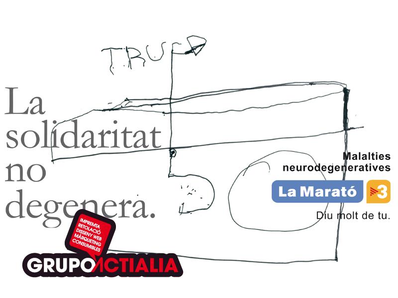 Grupo actialia ha colaborado con la marató 2013