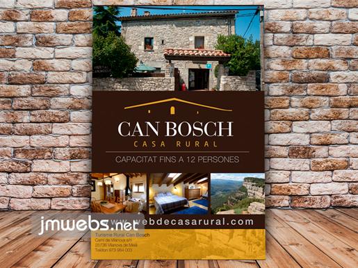 Pósters para casas de turismo rural