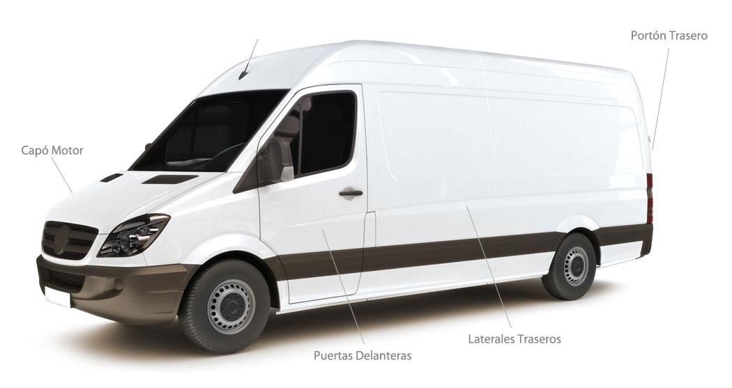 Rotulación de furgonetas