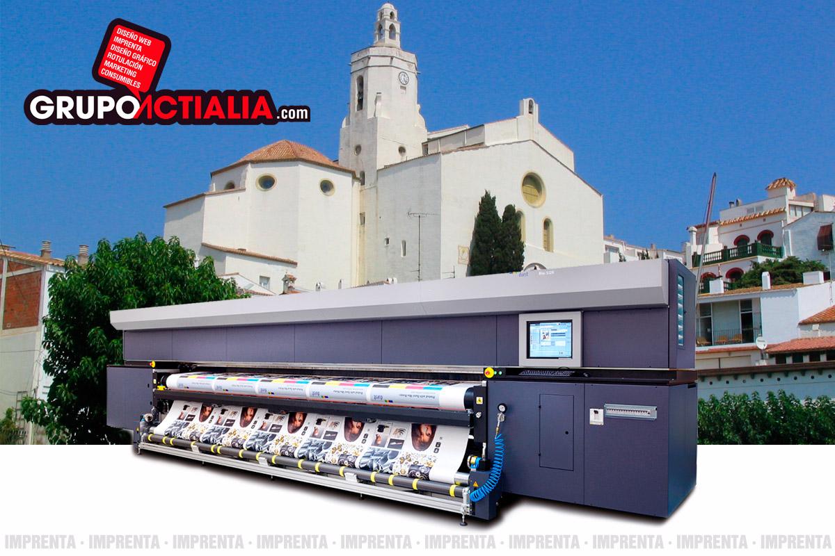 Grupo Actialia imprenta Cadaques