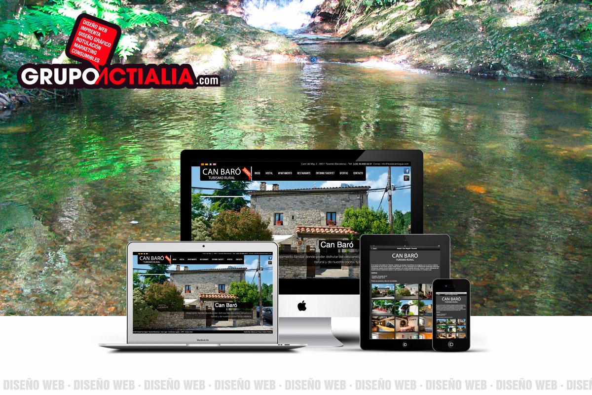 Diseño Web Gualba