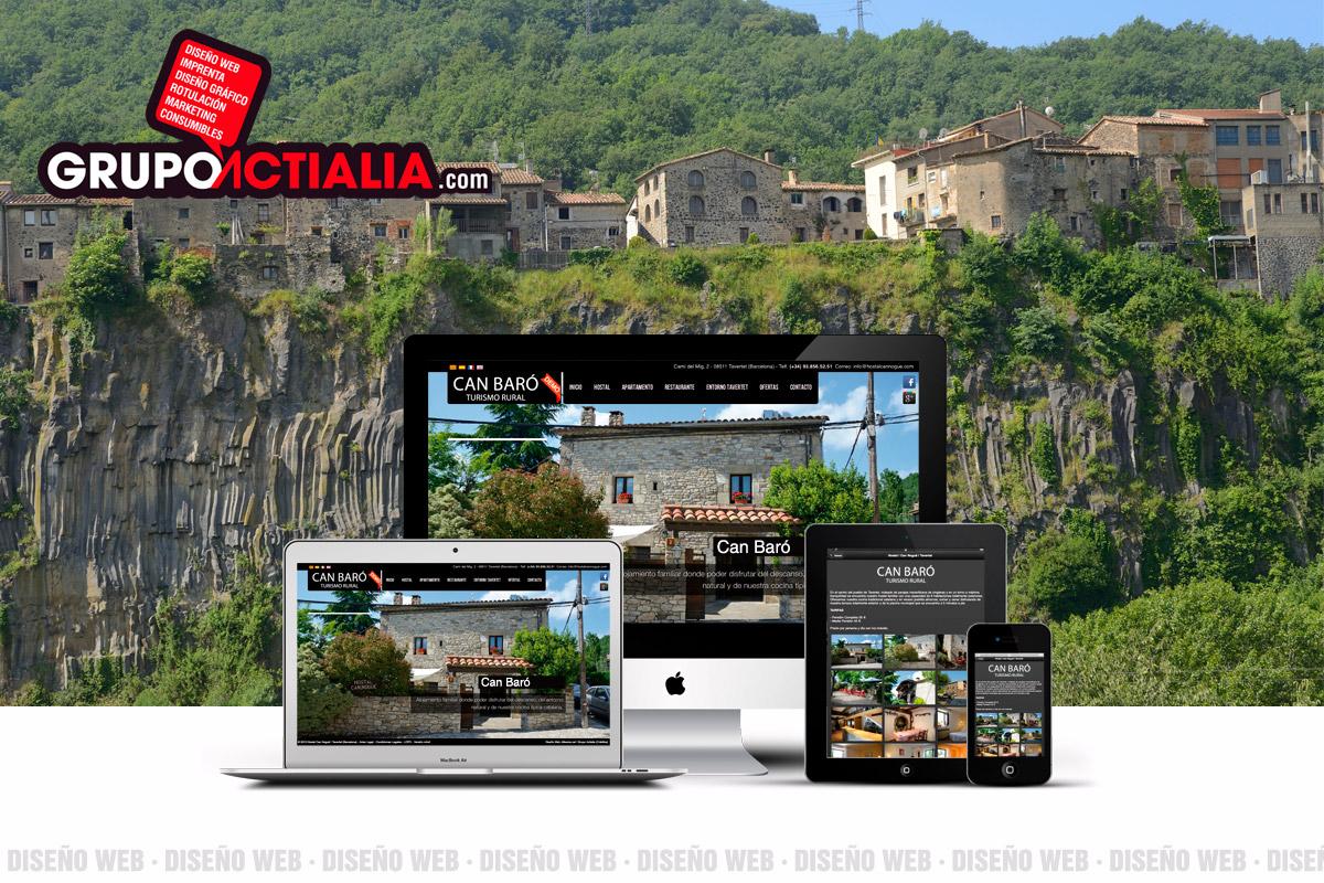 diseno web CastellFollit de la Roca