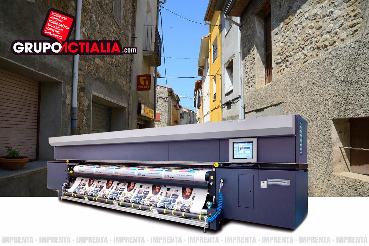 Grupo Actialia imprenta Argelaguer