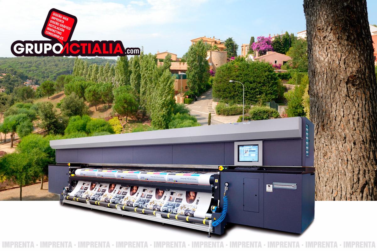 Grupo Actialia imprenta Begur