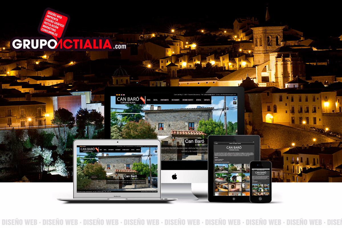 Diseño Web Chinchilla de Montearagón