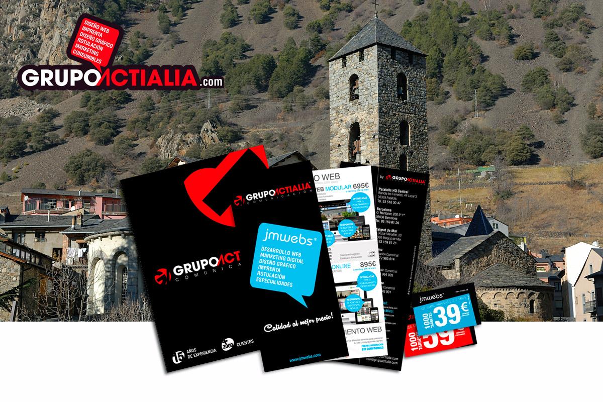 Grupo Actialia visita Andorra la Vella