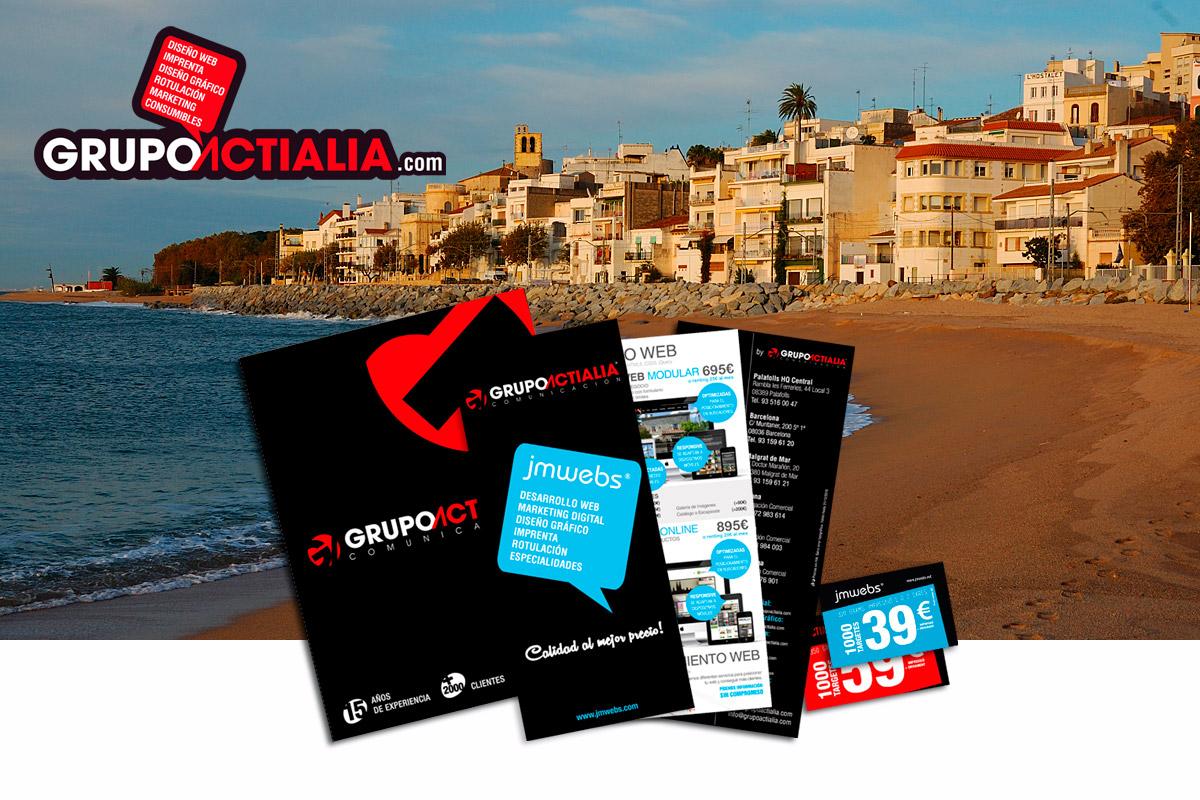 Grupo Actialia visita Sant Pol de Mar