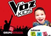 La Voz Kids, hoy en Malgrat de Mar